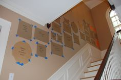 PROJECT FRAME COLLAGE: This seems like a great way to plan the collage before hanging frames. It would also prevent a lot of unnecessary holes being drilled into the wall. I will need the MATRIX Quick Connect Drill by BLACK+DECKER to make sure screws are in the correct locations. #stopmakingexcuses #pintowin #blackanddecker