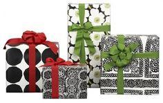 Marimekko Gift Wrap at Crate & Barrel