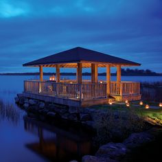 The Wineport Lodge is one of the most stunning hotels in Athlone. Hidden on the quiet, picturesque shores of Lough Ree. 4 Star Hotels, Gazebo, Wedding Venues, Castle, Outdoor Structures, Mansions, Country, Luxury, House Styles