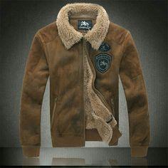 Los Hombres de moda Militar Del Ejército chaquetas hombres invierno Abrigos