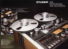 The Audio Archive, Inc. - STUDER A810 Professional Tape Recorder