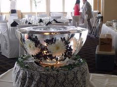 Cheap Ice Sculptures for Weddings | Photo Gallery - Photo Of Beautiful Ice Bowl