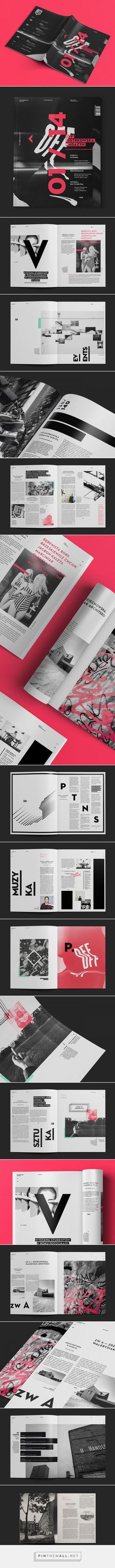 OFF Piotrkowska Magazine: PowerPoint Design Inspiration