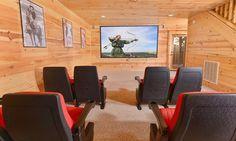 Pigeon Forge Cabins - Cinema Six Large Group