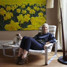 """Ruth Chapman, 52, joint-CEO of MATCHESFASHION.COM / Chapman - look at the links between dark hair dye and a variety of serious illnesses (if you want to scare yourself, google ''para-phenylenediamine''). Her advice is to """"go lighter slowly. It's a gradual thing and takes the best part of year."""" And, in contrast to all the naysayers, she describes the process as """"quite fun"""". She tells me that the end result """"will look amazing and revolutionize your life""""."""