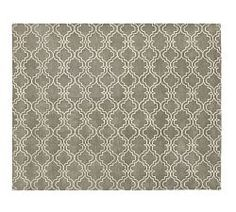 Contemporary Rugs & Contemporary Area Rugs | Pottery Barn Not sure if this pattern is too busy over a large area.