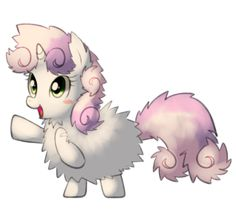 Fluffy Sweetie belle by Marenlicious on DeviantArt