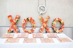 flower letters #flowersbystem #allisonwilliamsphotography