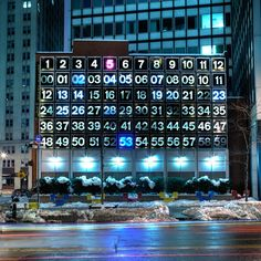 This photo was taken at approx This is the waterstreet Digital clock in lower Manhattan created by Rudolph de Harak New York School, Time Clock, Lower Manhattan, Expo, Big Time, View Image, How To Take Photos, All Over The World, Street