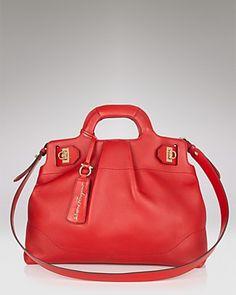 3a6aa624ae Salvatore Ferragamo Soft W Satchel Salvatore Ferragamo - Handbags -  Bloomingdale s