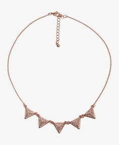 Forever 21 Spike Necklace.