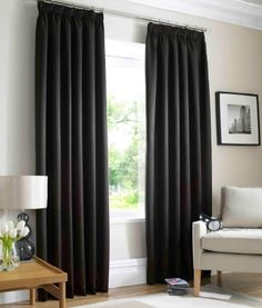 "Ready Made Curtains Fully Lined (Waffle) (Black, 66"" x 72"" (168cm x 183cm)) , http://www.amazon.co.uk/dp/B00BK435IE/ref=cm_sw_r_pi_dp_jjDtrb1B9CK82"
