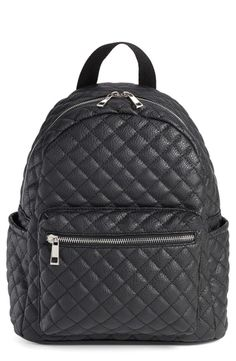A quilted LBB (little black backpack).