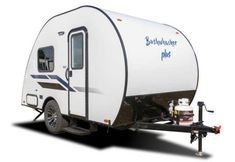 Bushwhacker Plus exterior Airstream Trailers For Sale, Camper Trailer For Sale, Tiny Trailers, Vintage Campers Trailers, Camper Trailers, Rv Campers, Lightweight Camping Trailers, Small Camping Trailer, Small Trailer