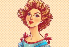 How to Create a 50s Fashion Illustration in Adobe Illustrator  Design Envato Tuts Design & Illustration