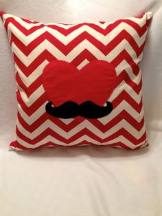 Cute Valentine Pillow Cover. $22,95, via Etsy.