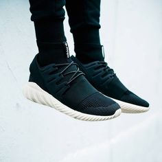 "Introducing the adidas Originals Tubular Primeknit ""Core Black"" - now online at HBX.com."