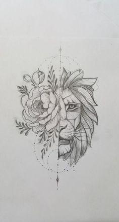 lion sketch tattoos \ lion sketch tattoos + lion tattoo sketch + lion tattoos men sketch + sketch style tattoos lion + lion head tattoos sketch + lion tattoos chest sketch + lion tattoos for men sketch Rose Tattoos, Body Art Tattoos, New Tattoos, Sleeve Tattoos, Mini Tattoos, Tattoo Drawings, Art Drawings, Sketch Tattoo, Flower Drawings