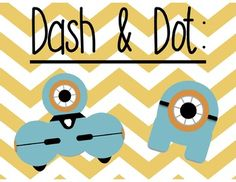 These robot clip art images are the perfect addition to your lesson plans or task cards including robots! Commercial use ok, but must credit back to Teaching. Dash And Dot Robots, Dash Robot, Computer Lab, Computer Science, Robot Clipart, Coding For Kids, Learn To Code, Library Displays, Digital Technology