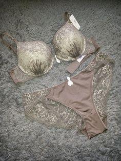 Funpanty : Bra set FMN Frida color walnut available size 32A/...