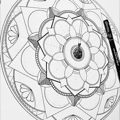 #wip ✏😌  .  .  .  .  .    #mandala #zentangle  #love #mandalaart #zentangleart #mandalatattoo #draw #mandaladrawings #drawing #color #beautiful #art #artist #artwork #creative #instadraw #photography  #galaxy #amazing #pink #red #blue #black #tattoo  #ideas #motivation #lifeisgood #my #life