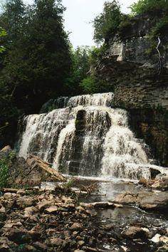 Jones Falls, Owen Sound, Ontario, Canada