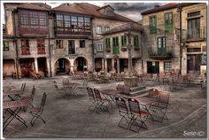 Praza da Leña (Casco Vello de Pontevedra)