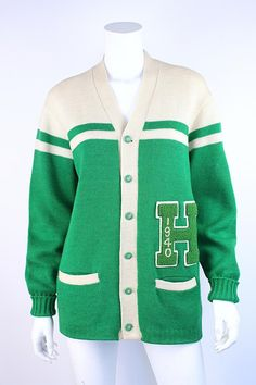 vintage 1940 varsity letterman sweater