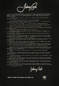 56cf02243d Johnny Cash s Letter to Radio Stations  Read What He Wrote in 1964