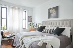 Take a peek inside this cool Harlem apartment chock full of decorating tips
