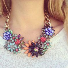 Glamour, Glitter, & Gold | via Tumblr #style,  #stone