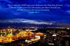 Isaiah 48, City night Singapore (new)