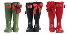 Rain boots with bows,  #totesadorbs