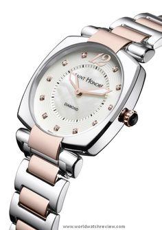 Saint Honore Euphoria Quartz 35mm quartz ladies wristwatch (Ref. 721108 6AYDR)