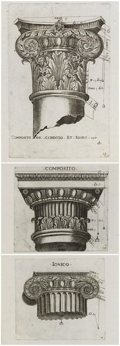 Design -  Corinthian column.