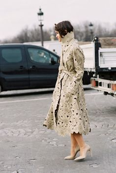 Paris Fashion Week AW 2013....Miroslava - Vanessa Jackman