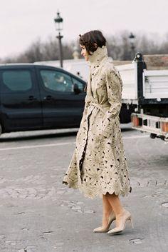 Vanessa Jackman: Paris Fashion Week AW 2013....Miroslava