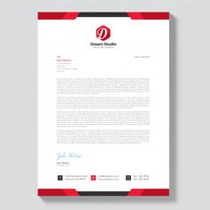 More than 3 millions free vectors, PSD, photos and free icons. Exclusive freebies and all graphic resources that you need for your projects Letterhead Design Inspiration, Identity Card Design, Invoice Design, Corporate Brochure Design, Stationery Design, Business Card Design, Corporate Business, Company Letterhead Template, Professional Letterhead Template