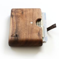 You couldn't make it up: a husband-and-wife maker duo from (not Portland but) Boise, Idaho, have just launched their first handmade product, a wooden wallet. Each Slim Timber wallet is crafted from a single piece of wood to ensure that it's strong enough to support a grown man.The compartment is...