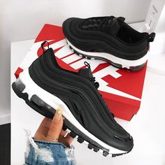sports shoes 0488a 81f89 Nike Air Max 97 Premium – Black   Anthrazit