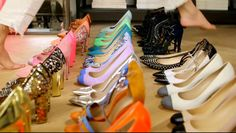j crew's etta All Fashion, Party Fashion, Fashion News, Fashion Shoes, J Crew Shoes, Jenna Lyons, Shiny Shoes, All About Shoes, Shoe Collection