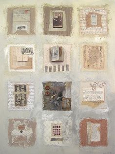 CAROLYN SAXBY MIXED MEDIA TEXTILE ART: April 2012