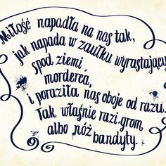 "Mikhail Bulgakov's ""The Master and Margarita"" quote in polish."