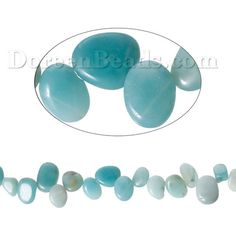 Worldwide Free Shipping (Grade B) Amazonite ( Natural ) Loose Beads Irregular Light green About 16.0mm( 5/8) x 10.0mm( 3/8), Hole: Approx 1.0mm, 40.0cm(15 6/8) long, 1 Strand (Approx 49 PCs/Strand) [B68323] at incredible low price– DoreenBeads.com