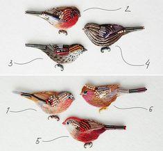 15 новых птиц!   Броши, ручная вышивка хлопком, застежки с серебрением   #вышивка #embroidery #bordado #ricamo #stickerei #lerapetunina #birds #птицы #ручнаяработа #ручнаявышивка #handwork