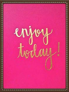 Desfrute hoje!