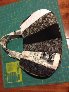 My new handbag I made. Fully lined. Very pleased with this one.