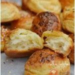 FotoRecept | Zemiakové pagáče - NajRecept.sk Slovak Recipes, Czech Recipes, Vegan Recipes, Cooking Recipes, Good Food, Yummy Food, Bread And Pastries, Food 52, Bread Baking