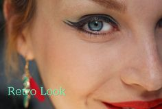 Retro look with Alverde cosmetics - Fabulous Fifties! ❤
