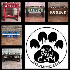 Have a favorite sports team? Want to represent your school? Now your pup can show their support for them too!! Have their custom feeders painted in the same colors as them! All feeders are customized to exactly what colors you want! For more details check out www.NewPawCity.com A portion of all sales are donated back to animal rescues!  #newpawcity  #adoptdontshop #banbsl #endbsl #dontbullymybreed #mansbestfriend #dogs  #wedoitforthedogs #rottweiler #germanshepherd #canecorso…